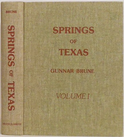 9780960476602: Springs of Texas
