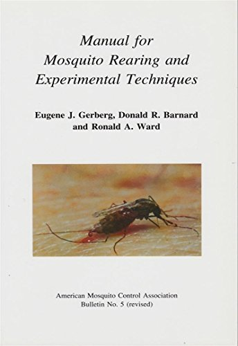9780960621088: Manual for mosquito rearing and experimental techniques (AMCA bulletin)