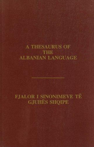 9780960672844: Fjalor i Sinonimeve, i Antonimeve, i Fjalëve të Njëjta, i Termave të Ngjashëm, i Fjalëve te Përafërta, i Varianteve e të Tjera të Gjuhës Shqipe dhe Një Bibliografi të Fjalorëve të Gjuhës Shqipe