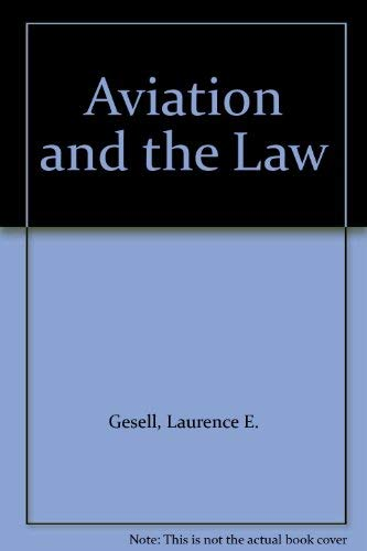 9780960687428: Aviation and the Law