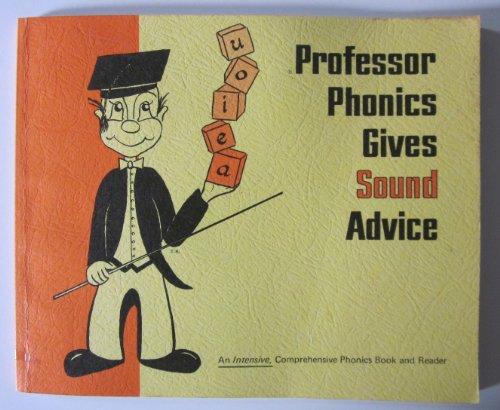 9780960791804: Professor Phonics Gives Sound Advice