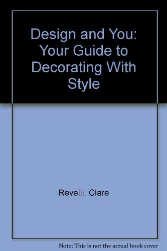 9780960809219: Design and You: Your Guide to Decorating With Style