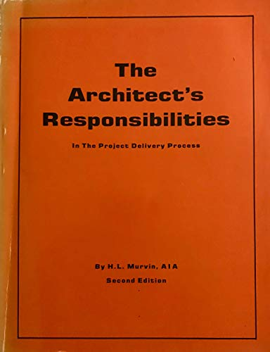 9780960849802 Architect S Responsibilities In The Project Delivery