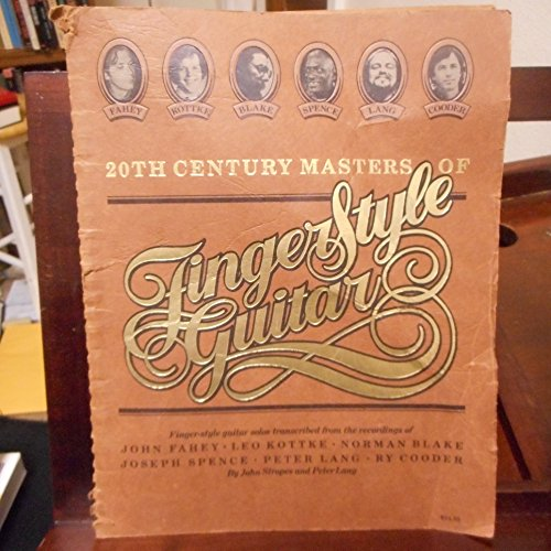 9780960851201: 20th century masters of finger-style guitar