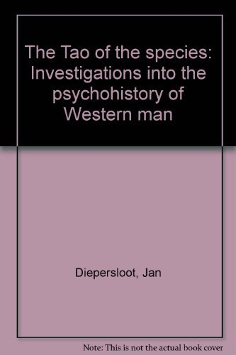 The Tao of the species: Investigations into: Diepersloot, Jan