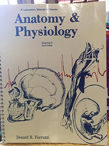 9780960909841: A Laboratory Manual of Human Anatomy and Physiology