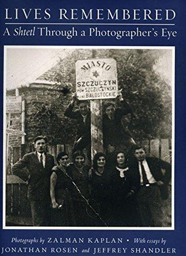 Lives Remembered: A Shtetl Through a Photographers': Levine, Louis D.