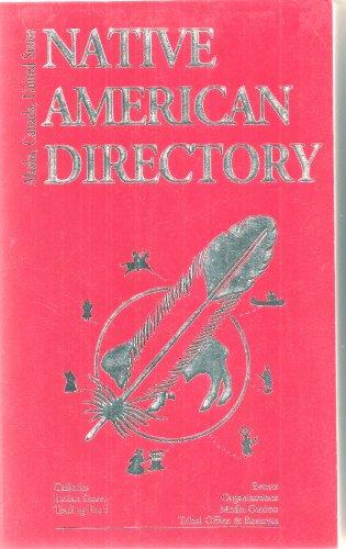 9780961033453: Native American Directory: Alaska, Canada, U.S.