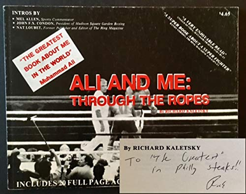 9780961053406: Ali and Me: Through the Ropes