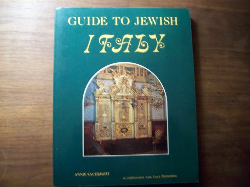 9780961103637: Guide to Jewish Italy
