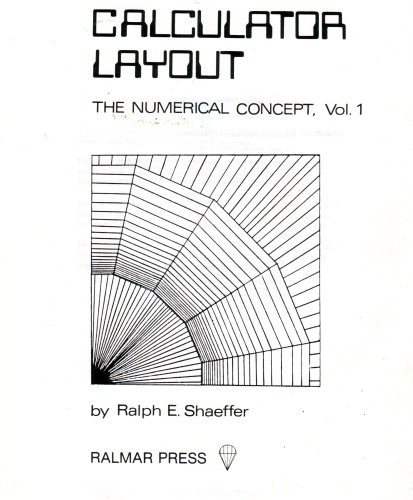 9780961141820: CALCULATOR LAYOUT (THE NUMERICAL CONCEPT, VOL. 1)
