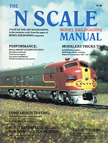 The N Scale Model Railroading Manual, Volume: Schleicher, Robert