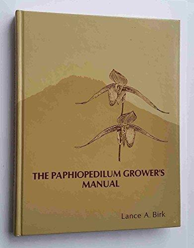 9780961282608: The Paphiopedilum Growers Manual