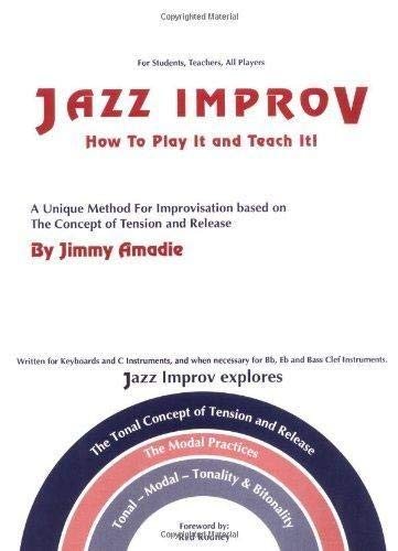 9780961303518: Jazz Improv How to Play It and Teach It