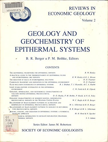 9780961307417: Geology and Geochemistry of Epithermal Systems (Reviews in Economic Geology, Volume 2)
