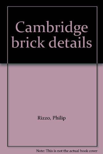 CAMBRIDGE BRICK DETAILS: Rizzo, Philip