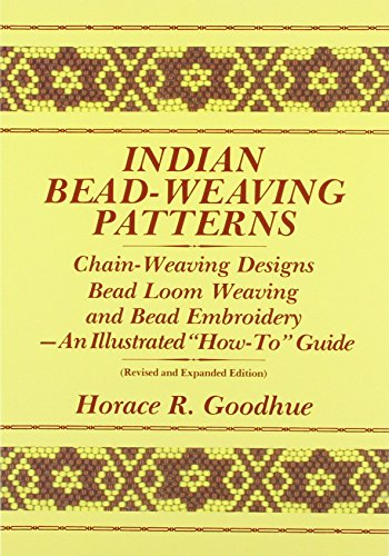 9780961350314: Indian Bead-Weaving Patterns: Chain-Weaving Designs Bead Loom Weaving and Bead Embroidery - An Illustrated