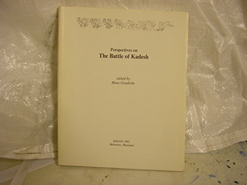 9780961380519: Perspectives on the Battle of Kadesh