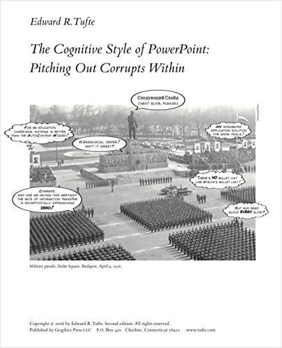 9780961392161: Cognitive Style of Powerpoint: Pitching Out Corrupts Within