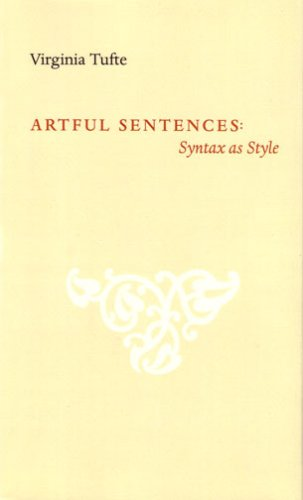 9780961392185: Artful Sentences: Syntax As Style
