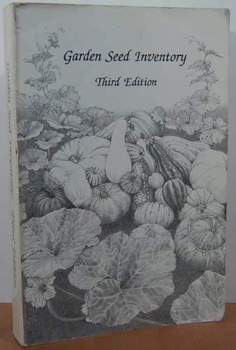 9780961397791: Garden Seed Inventory