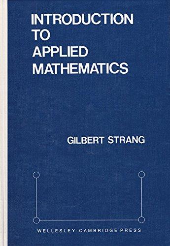 Introduction to Applied Mathematics (Hardback): Gilbert Strang