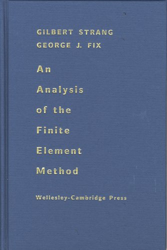 9780961408886: An Analysis of the Finite Element Method