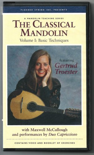 9780961412043: The Classical Mandolin, Volume 1: Basic Techniques [VHS]