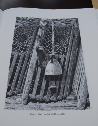 The Pen Renderings of Elmer Rising New England in Black and White: Wells, Gwenn Evans