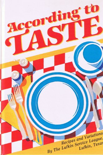 According to Taste: Lufkin Service League