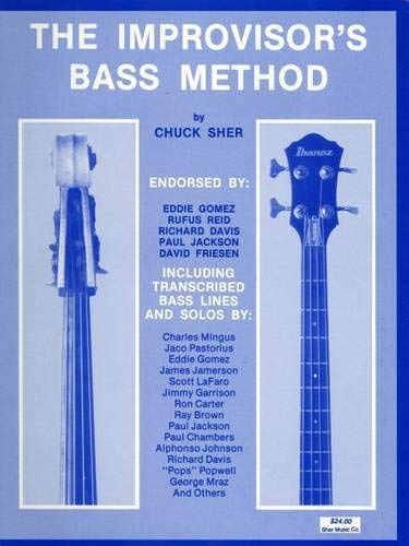 9780961470104: Improvisers Bass Method