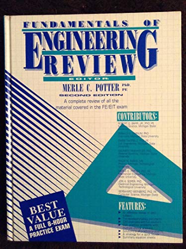9780961476021: Fundamentals of Engineering Review