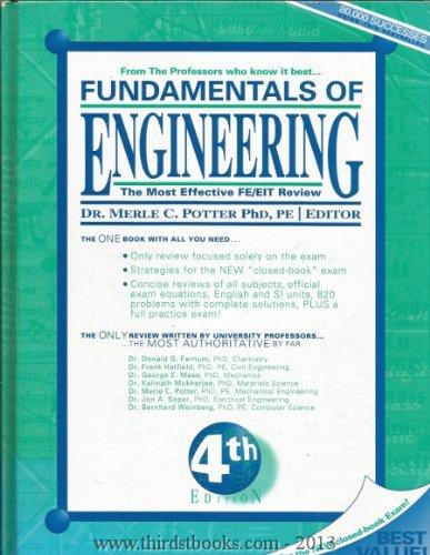 9780961476052: Fundamentals of Engineering