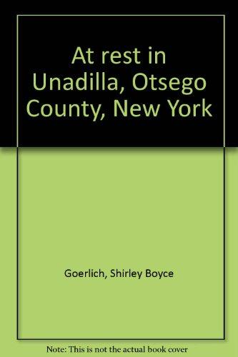 At rest in Unadilla, Otsego County, New York: Goerlich, Shirley Boyce