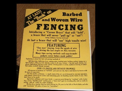 9780961503604: Barbed and Woven Wire Fencing