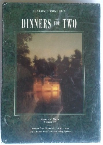 Dinners for Two, Menus and Music: Vol IV: Oconnor, Sharon