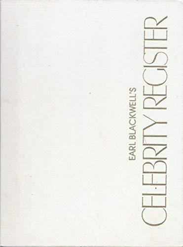 9780961547608: Earl Blackwell's celebrity register