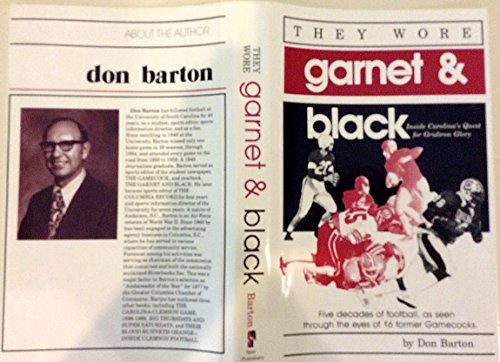 They Wore Garnet and Black: Barton, Don