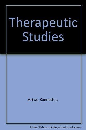 9780961586508: Therapeutic Studies