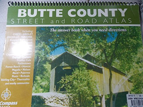 9780961592691: Butte County Street and Road Atlas