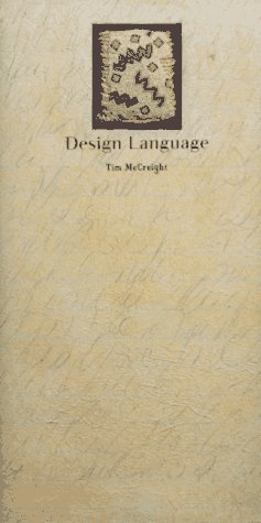 9780961598464: Design Language