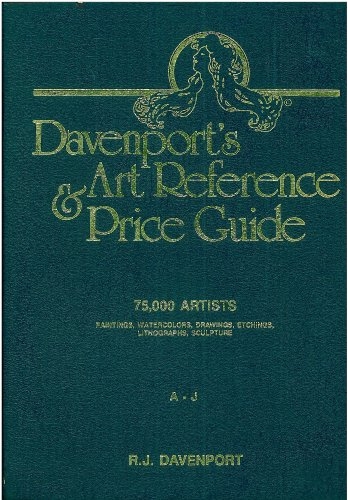 9780961611033: Davenport's Art Reference & Price Guide (2 Volume Set)