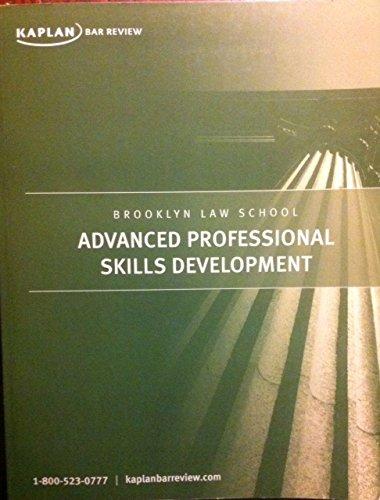 9780961620844: Brooklyn Law School Advanced Professional Skills Development
