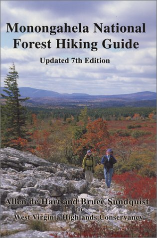 9780961655327: Monongahela National Forest Hiking Guide