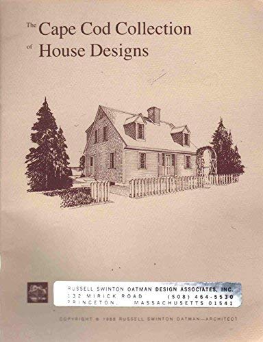 9780961659349: The Cape Cod collection of house designs