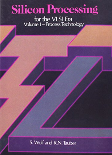 9780961672133: Silicon Processing for the Vlsi Era: Process Technology: 001