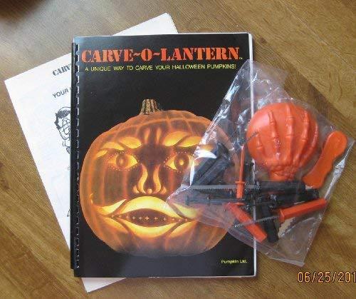 9780961701703: Carve-O-Lantern: A Unique Way to Carve Your Halloween Pumpkin/Kit