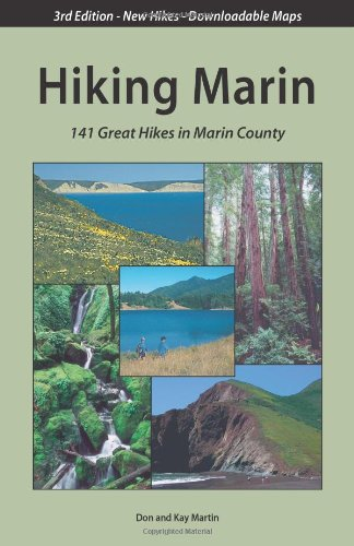 9780961704490: Hiking Marin: 141 Great Hikes in Marin County