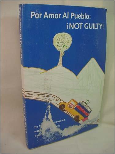 9780961750404: Por Amor Al Pueblo: Not Guilty! - The Trial of the Winooski 44 (Civil Disobedience)