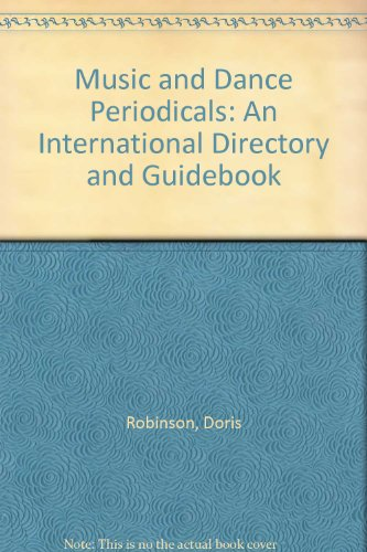 9780961784447: Music and Dance Periodicals: An International Directory and Guidebook